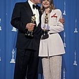 Anthony Hopkins and Jodie Foster, 1992