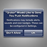 Turn Off Push Notifications and Sounds