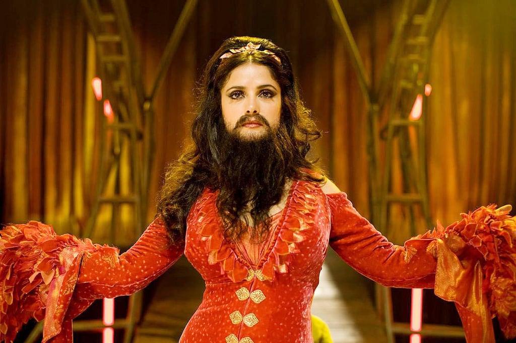 A Bearded Lady