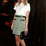 Style Your T-Shirt With: A Skirt and Heels