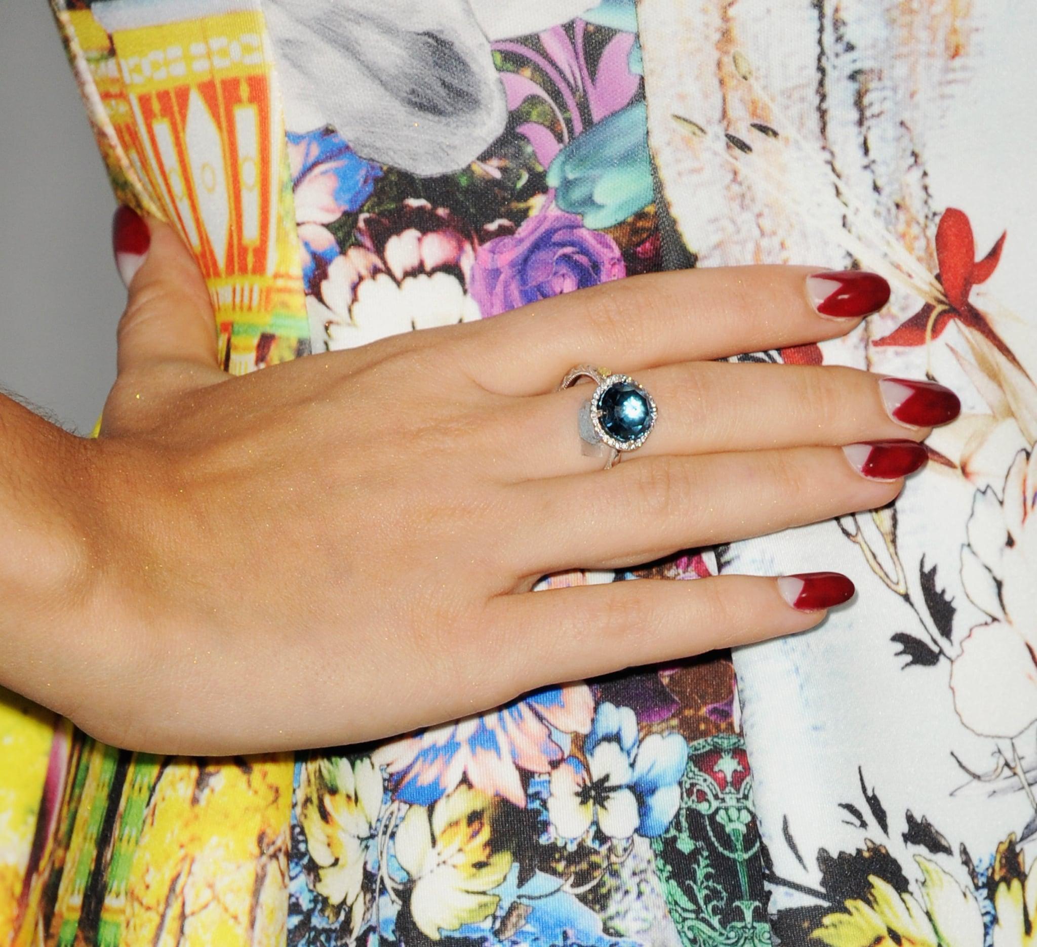 She nails nail art.