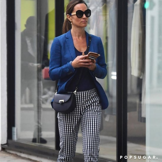 Pippa Middleton's Checkered Pants