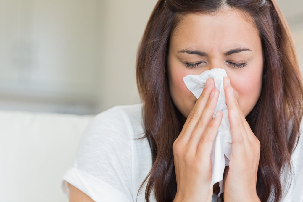blow your nose often pregnancy safe cold remedies popsugar