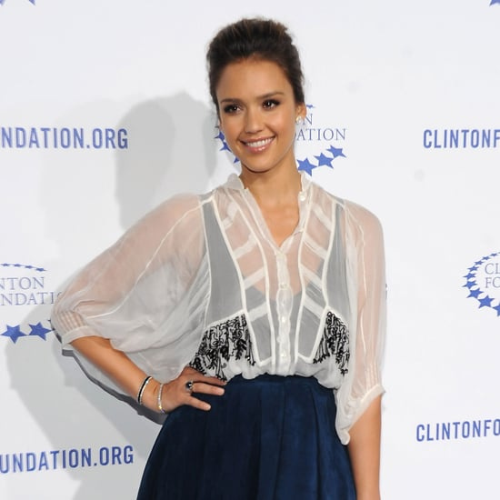 Jessica Alba and Rachel Zoe at LA Clinton Gala Pictures
