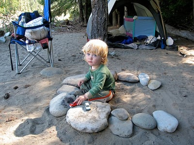 5 Tips for Surviving a Camping Trip with a Toddler