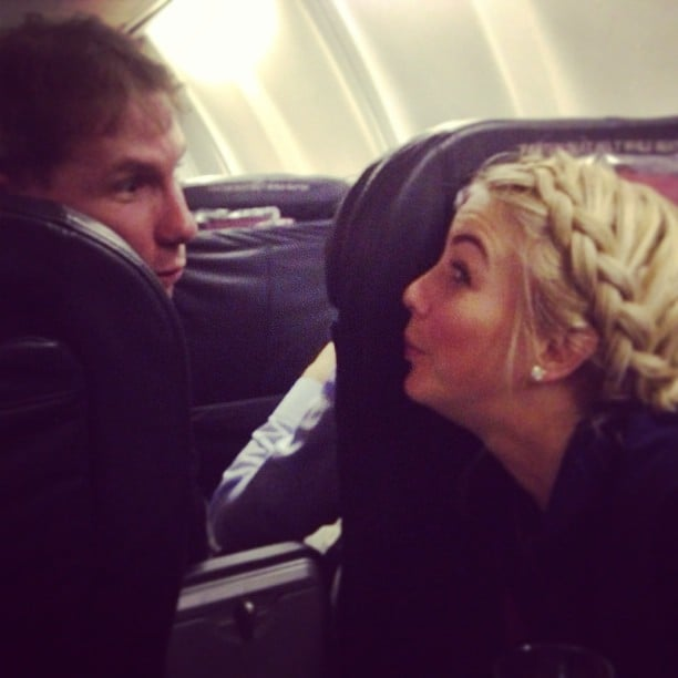 Julianne hough and nicholas sparks got silly during a - Dave sparks instagram ...