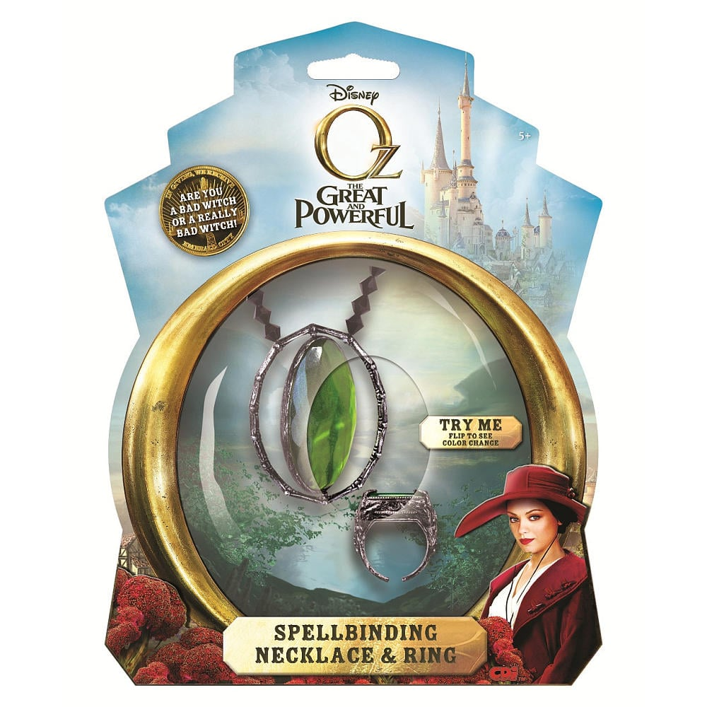 Disney's Oz Evanora Spellbinding Necklace and Theodora's Ring