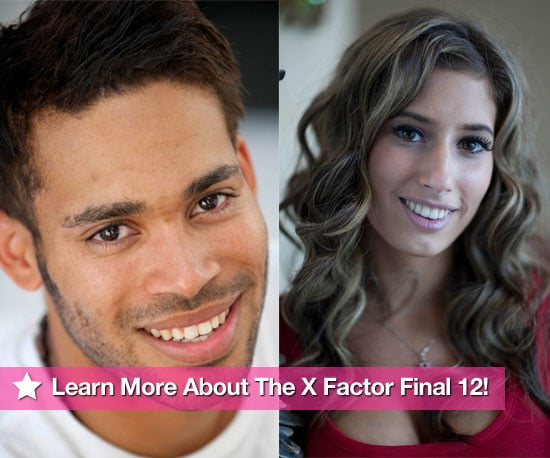 All The Gossip About The X Factor Final 12!, Gallery of Pictures of The X Factor Final Twelve Contestants Through To Live Finals