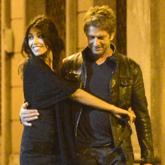Gerard Butler With Girlfriend Madalina Ghenea in Rome Photos