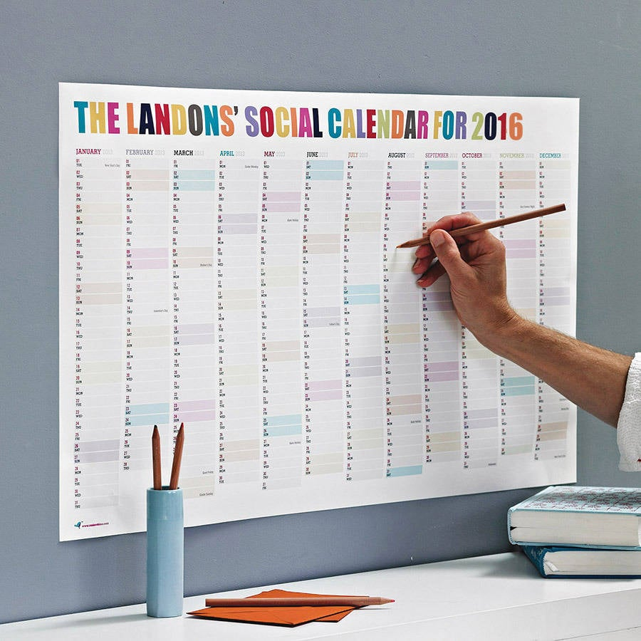 Personalized Social Calendar
