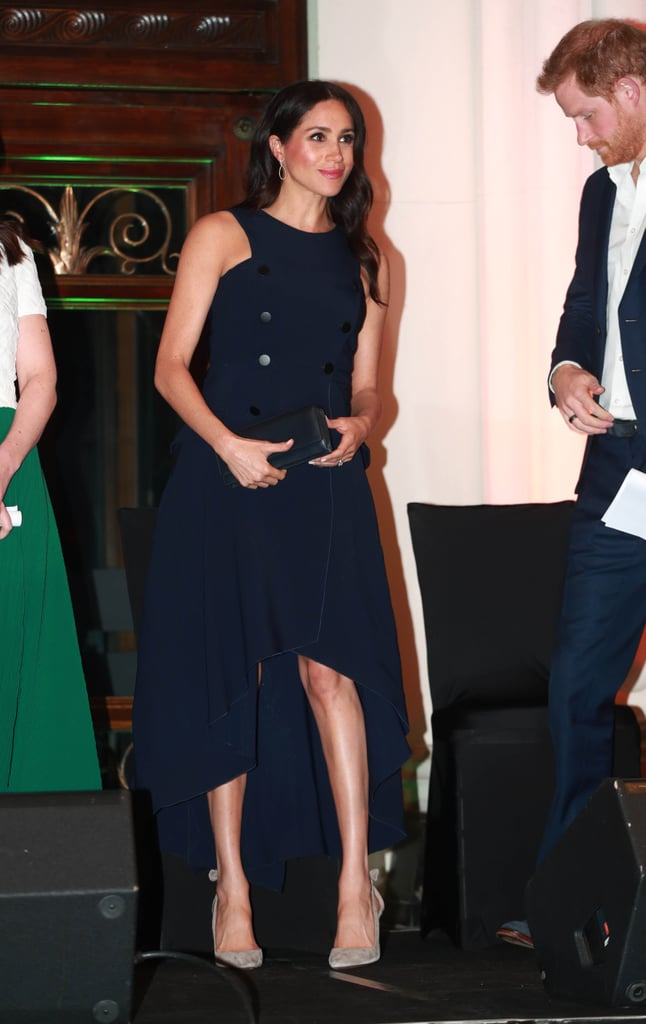 Meghan Markle's Antonio Berardi Dress October 2018