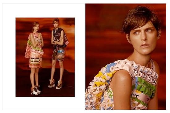 Balenciaga Fall 2010 Ad featuring Stella Tennant