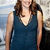 Jennifer Garner wore a plunging V-neck dress to her husband Ben Affleck's Argo premiere in Washington DC.