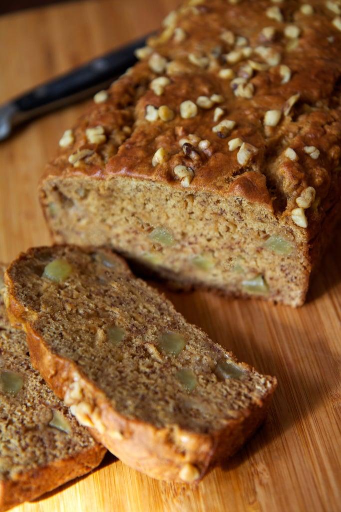 Vegan Banana Apple Chunk Bread