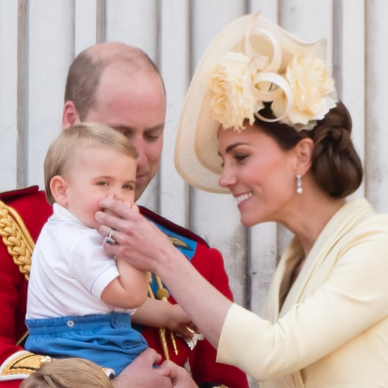 Prince Louis Sucking His Thumb At Trooping the Colour 2019