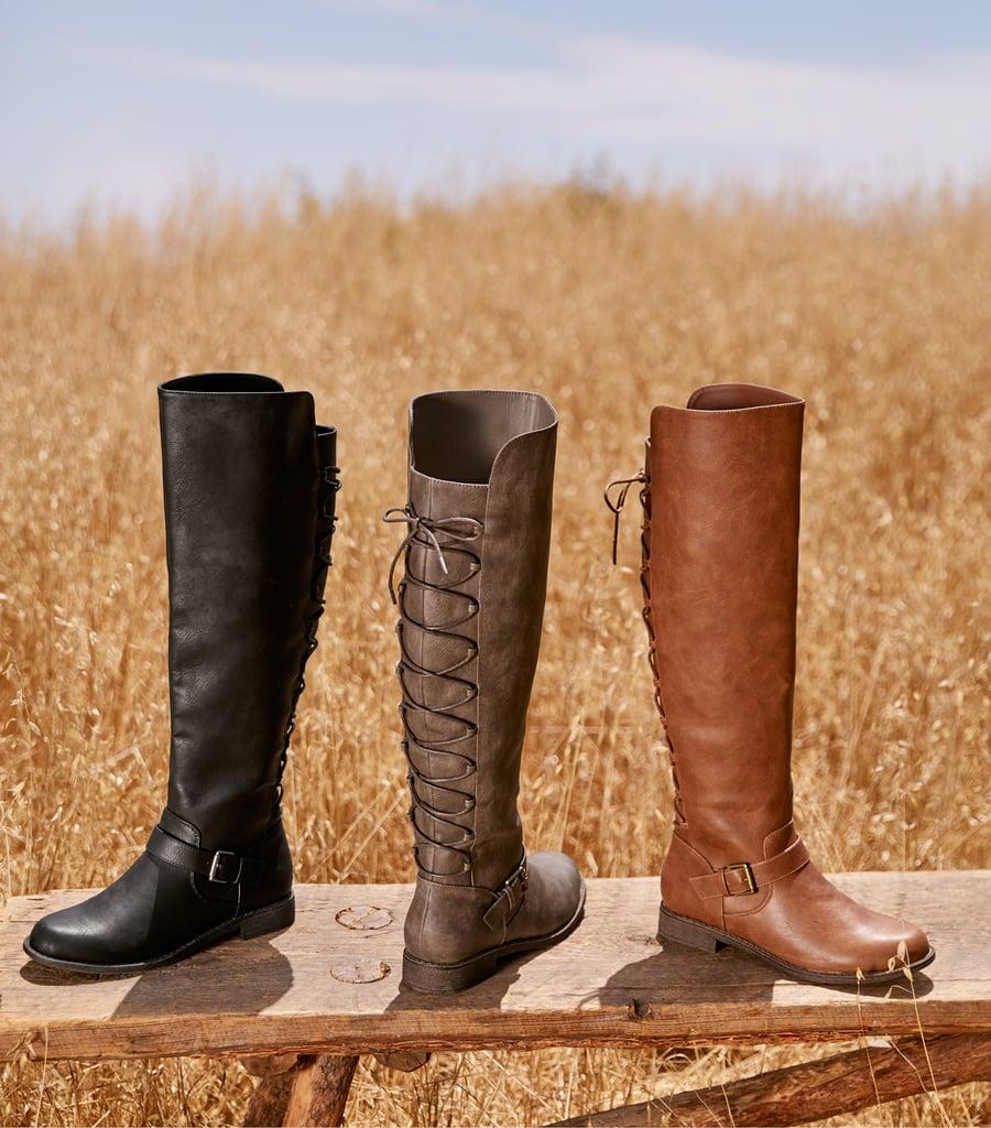 Flat Boots? So Flattering!
