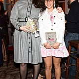 At Nordstrom's Fashion Week bash, Olympia Le Tan and Cleo Le Tan were well-accessorized.