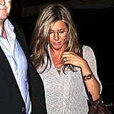 Jennifer Aniston Pays Homage to an Old Friend