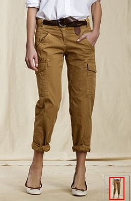 Canvas Cargo Pants ($37, originally $50)