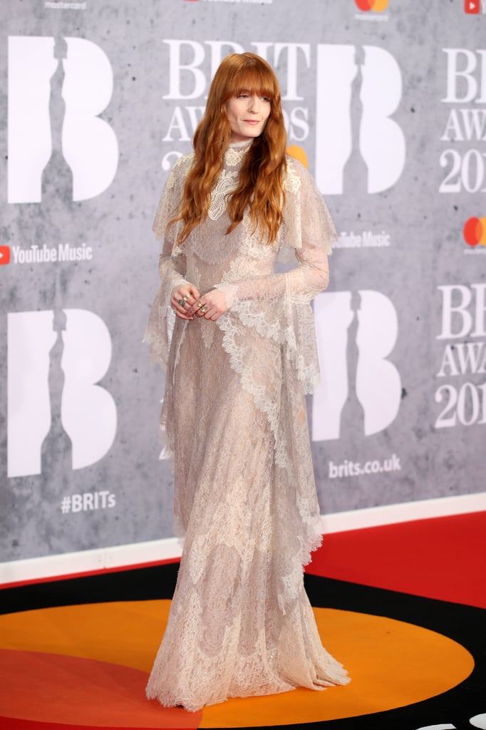 Florence Welch at the 2019 Brit Awards