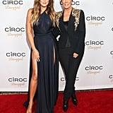 Khloé and Mom Kris Jenner in LA in 2014