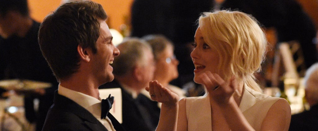 Emma Stone and Andrew Garfield at the Governors Awards 2017