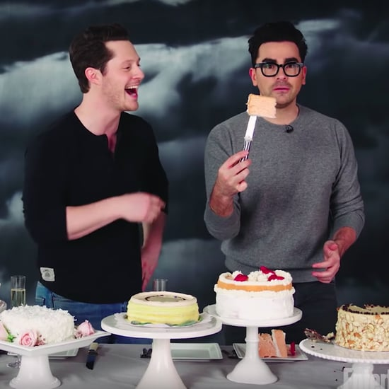 Schitt's Creek's Dan Levy and Noah Reid Try Wedding Cakes