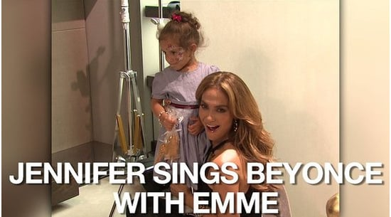 """Video of Jennifer Lopez and Emme Anthony Singing """"Single Ladies"""" at a Gucci Event"""
