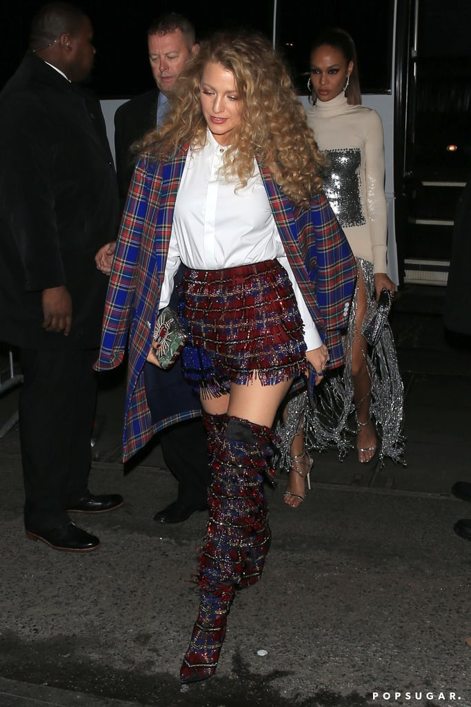 Blake Lively's Plaid Met Gala Afterparty Look 2018