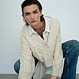 Zara Patchwork Knit Cardigan ($69.95)