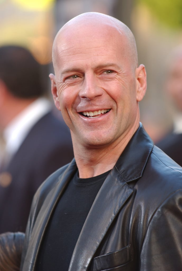 Bruce Willis Hot Pictures | POPSUGAR Celebrity Matt Damon Father
