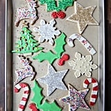 Iced Christmas Sugar Cookies