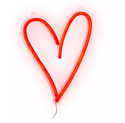 Heart Wall Neon Light