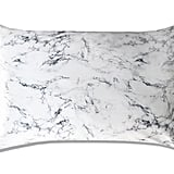 Slip White Marble Queen Silk Pillowcase