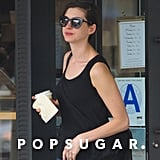 Anne Hathaway Goes Back to Brunette!