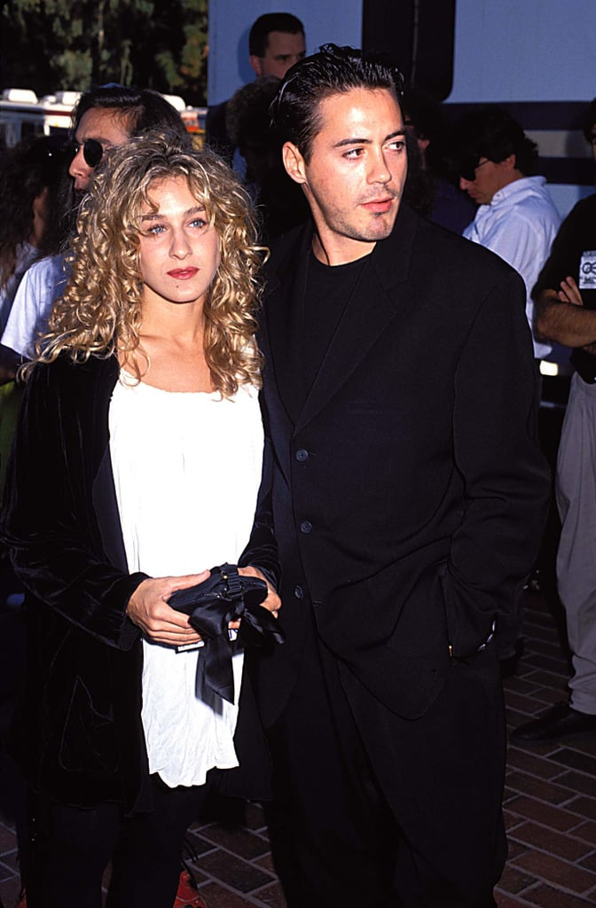 Sarah Jessica Parker and Robert Downey Jr., 1990