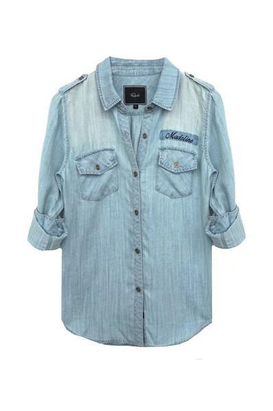 Rails Tyson Light Vintage Wash shirt
