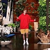 Demi Lovato Interviews Justin Bieber on Ellen DeGeneres Show