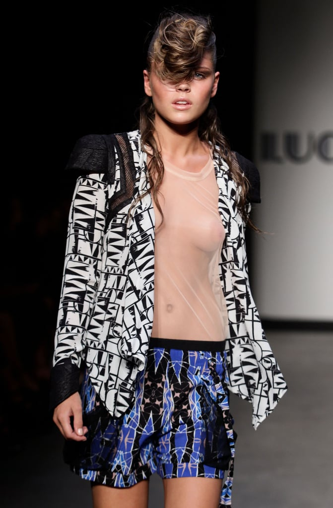 Photos from Lucette's SS 2010-11 Show at RAFW