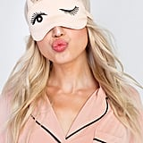 Permission to sleep in, granted with this Wildfox sleep mask ($34).