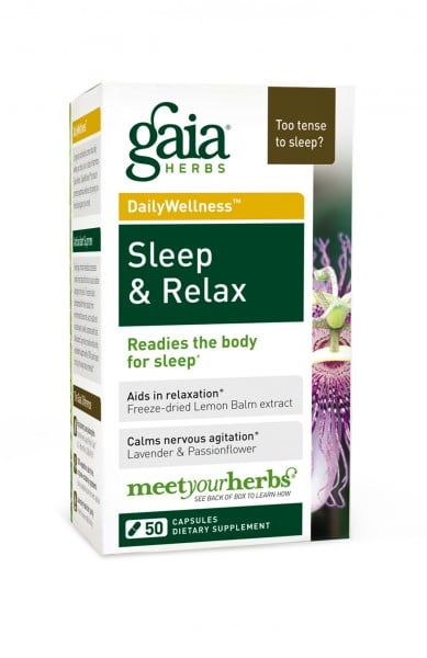 Gaia Herbs Sleep and Relax | Anxiety Relief Products | POPSUGAR