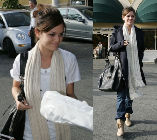 Rachel Bilson Stocks Up
