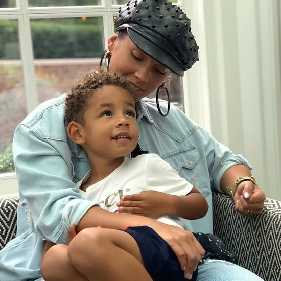 Alicia Keys Talks About Her Son's Manicure on Instagram