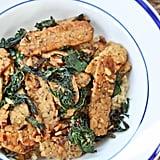 Vegan Tempeh With Kale