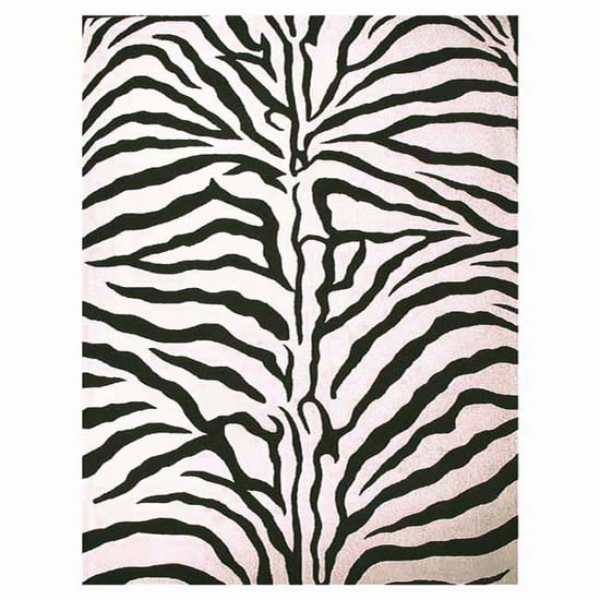 Steal of the Day: Hand-Tufted Zebra Rug