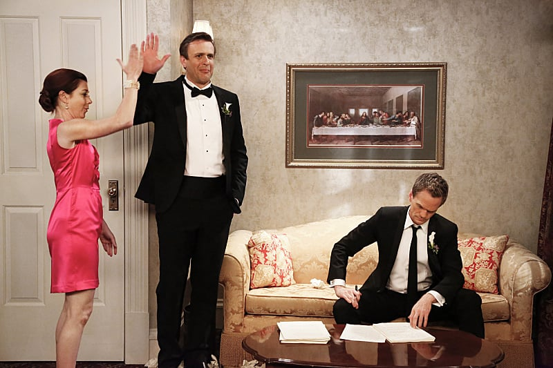 Marshall and Lily should have added high-fiving to their new vows.