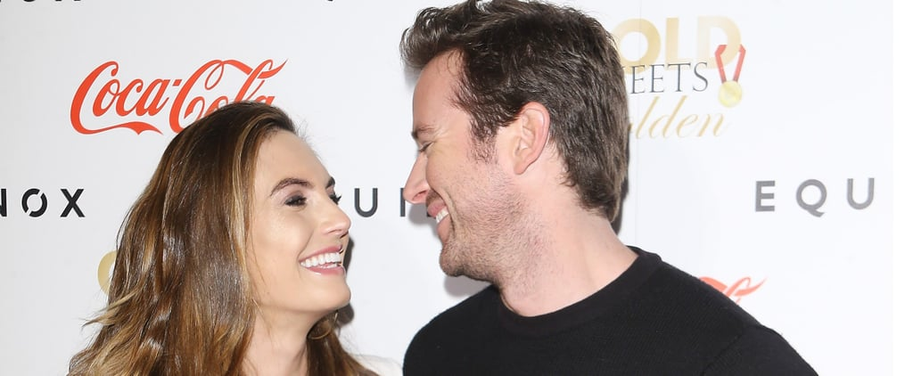 Armie Hammer and His Wife Elizabeth Chambers Are Way Too Cute Together