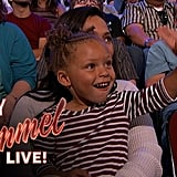 When Riley Got More Love From the Audience at Jimmy Kimmel Than Steph