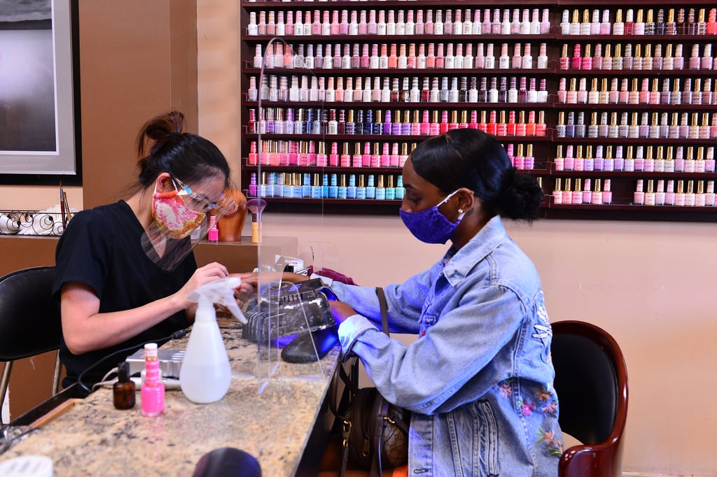 What the Prep Work Has Been Like to Reopen Nail Salons