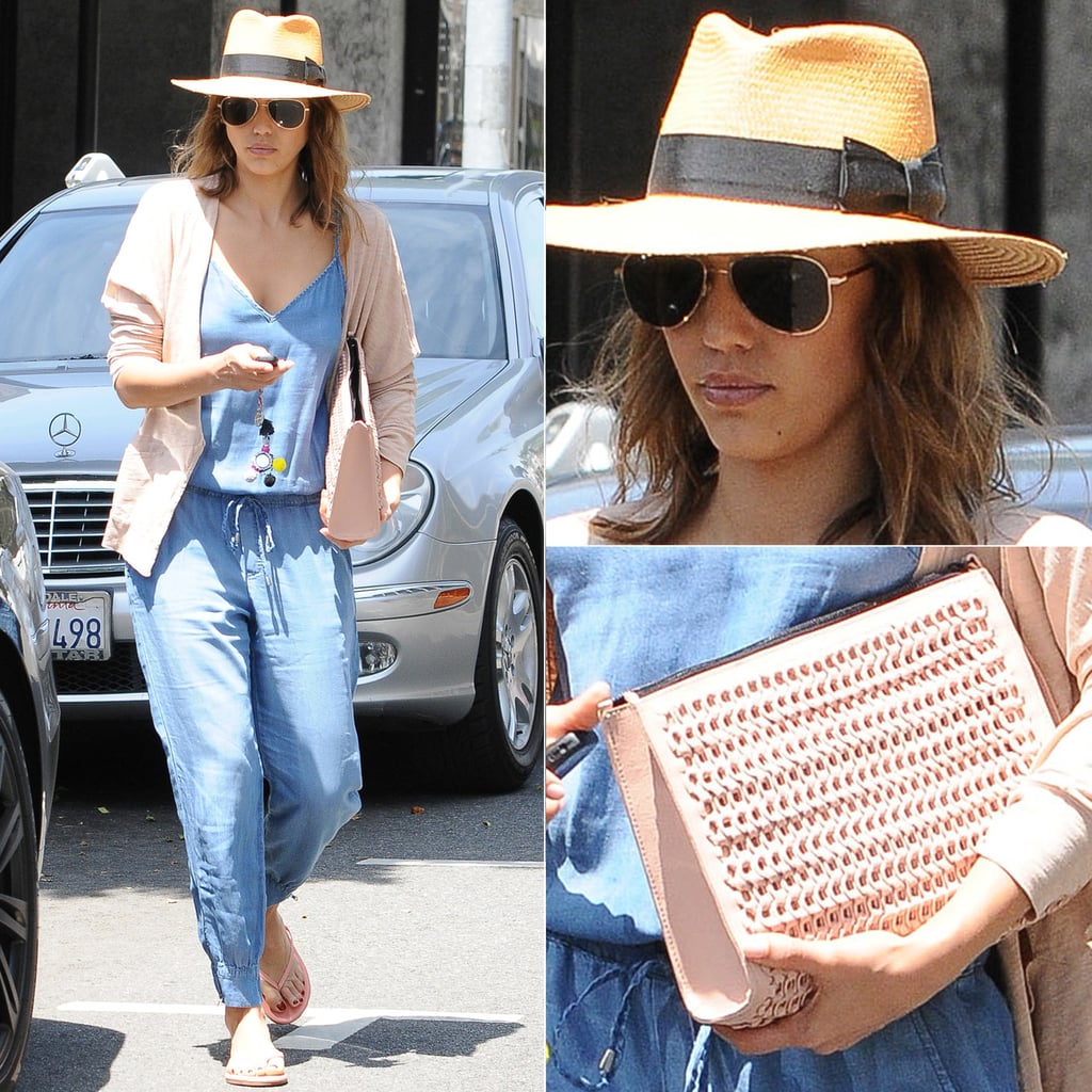 Try Jessica Alba's Springtime Alternative to Jeans
